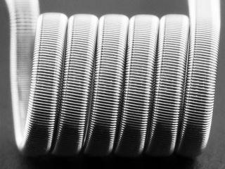 Спирали на любые баки и дрипки, Fused Clapton Coil from  fix rb  VapersMD