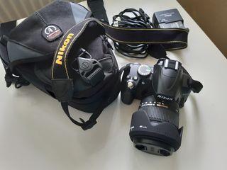 Aparat foto nou / Новый Nikon D3000 + Обьектив SIGMA + Бленда + инструкции на 10 языках