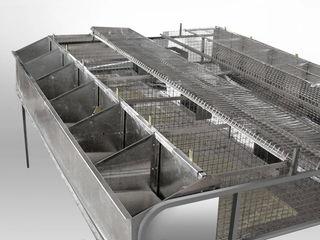 Custi pentru iepuri industriale  Ucraina