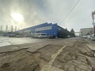 Se dă în chirie spațiu industrial 800 m.p, sectorul Botanica, 2850 €