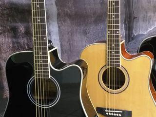 Chitara electro-acustica Harley Benton D-120CE