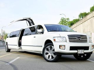 Infiniti QX56 Limousine транспорт для торжеств transport pentru ceremonie