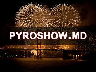 Artificii, fumigene, pyroshow, фейерверки,салюты, Chisinau