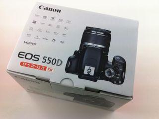 Новый Canon EOS 550D + линза EF-S 18-55 / 350 euro привезен из Аглии