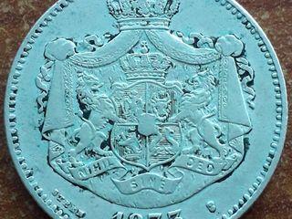 Monede Carol - I. 2 Lei. Romania. Argint