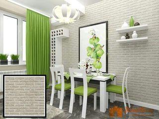 Caramida alba,gips,decor,loft,design,piatra decorativa.Кирпич белый,гипс,декор,лофт,дизайн,камень.