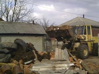 Услуги строительной техники Снос домов вывоз мусора хлама демонтаж сооружений бетоновырубка выезд