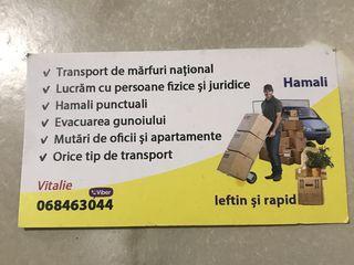 Transport si hamalii