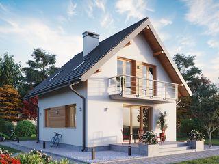 Новый дом с мансардой
