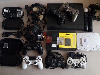 PlayStation 1,2,3,4, PSP, Vita. Прошивка, ремонт, установка игр, джойстики,карты памяти,FMCB,кабель.