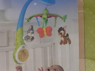 Chicco jucarie carusel cu proiector, pentru pătuț
