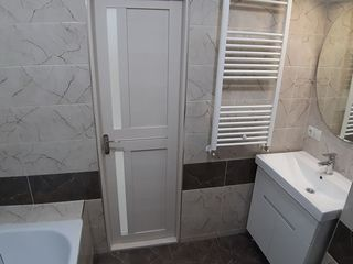Vânzare apartament 2 camere+living, 75 mp, reparație euro, mobilat, bloc nou, Buicani!