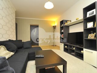Apartament 3 camere, reparat și mobilat, Buiucani 53500 €