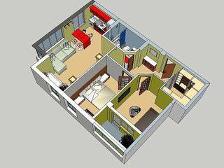 Vinzare apartament cu 3 odai,38ooo euro