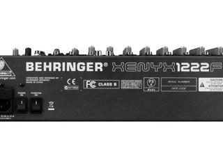 Микшер Behringer Xenyx 1222FX