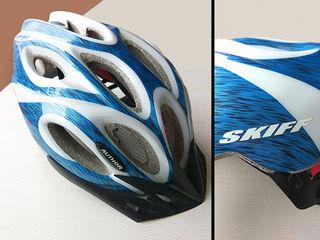 Продам велосипедный шлем Author Skiff, размер M, состояние идеальное.