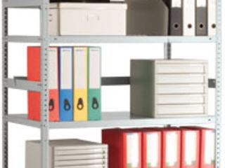 Стеллажи металлические офисные, архивные, складские
