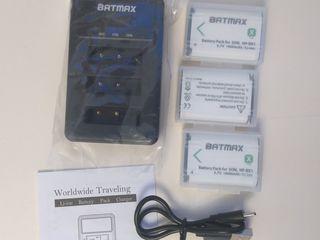 Аккумуляторы и зарядки для видео, фотокамер Sony, для экшнкамер Yi 4 К, Yi 4 К +, Yi Lite.