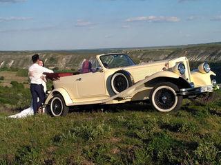 Retro Cabriolet транспорт для торжеств transport pentru ceremonie