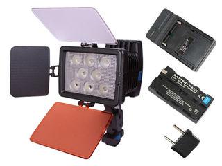Профессиональный накамерный светодиодный свет.