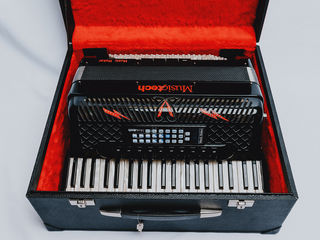 PE STOC!!Acordeon Musictech Maker 50 Set Wireless!!!!!!