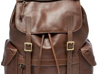 Fossil новый кожаный рюкзак