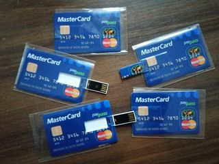 Флешки -  Кредитная карта 16 Гб  200 лей   USB 2.0 Memory флэш-накопитель