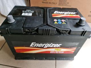 Acumulator, Energizer, 95 Ah, 830 A, anul 2019, ideal  1200 lei, plusul pe dreapta