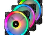 Corsair LL120 3-Pack RGB Fans with Lighting Node Pro Controller