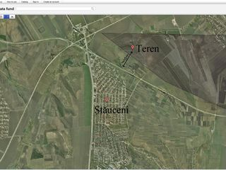 Земельные участки в Ставченах. Terene agricole in Stauceni.