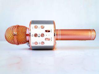 Качественный! Микрофон беспроводной. Колонка не нужна!!!  490 лей. Смотрите видео!