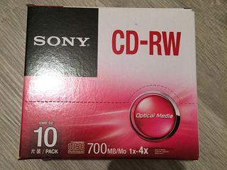CD- RW Sony cumparate din SUA,