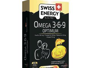 Omega-3-6-9 Optimum, Omega-3 Multivit, Omega – 3 Cardio Max