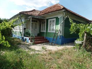 Жилой дом, большой огород, рядом примэрия и школа.