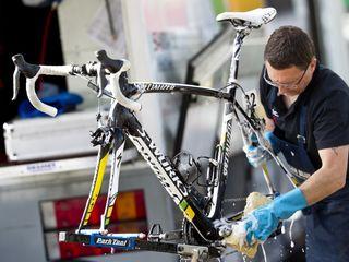 Ремонт велосипедов, Запчасти