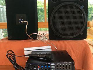 Profesoinall Karaoke,mixer-amplificator AV-808(1500 lei) , boxe(2600 le), Microfon, tot la 4000 lei