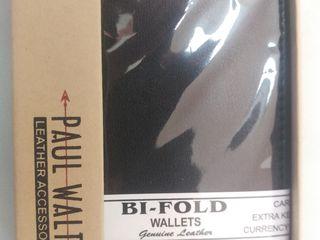 Кошелек мужской Paul Walter Leather Bi-Fold