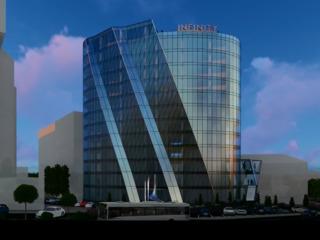 Уникальные офисные помещения 700м2 в бизнес центре класса А Infinity Tower на Штефан чел Маре!