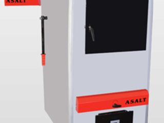 Системы воздушного отопления длительного горения на твердом топливе любой мощности.