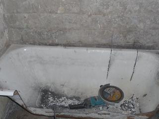 сбивка бетона