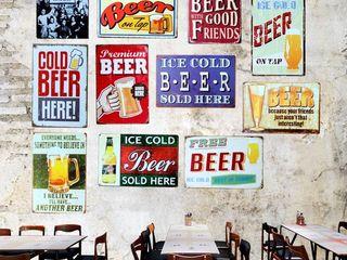 Placi decorative. pentru.pab.bar.cafe.club.