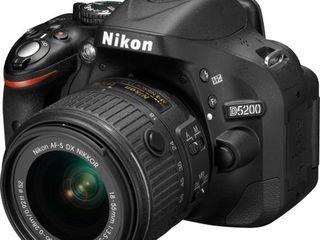Vând Nikon D5200 in stare ideală