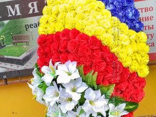 Траурные венки с доставкой по всей Молдове. Ассортимент, качество, низкие цены!