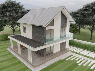 Casa cu 2 nivele 130 mp ,teren 6 ari