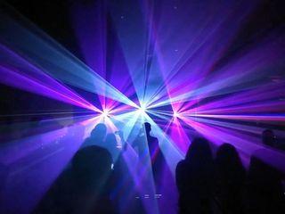 Lumini Profesioniste , Laser Show, Fum greu pentru evenimentul d-stra