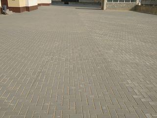 Укладка тротуарной плитки.Instalarea pavajului calitativ.