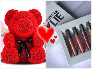 Акция!! Подарок к мишке из роз!! Успей сделать двойной подарок всего за 499лей!!