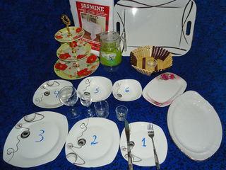 Продаю разную посуду. Vand vesela de calitate pentru servicii catering, nunti, cumatrii etc.