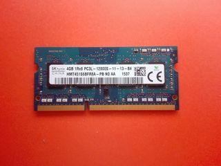 RAM notebook DDR3 4GB 249 lei, 8GB - 499 lei