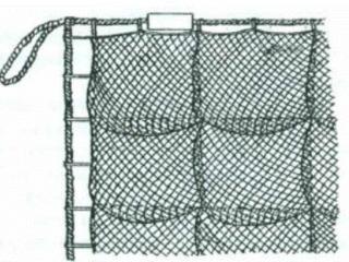 Сети рыболовные рамовые и трехстеные